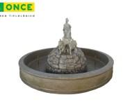 Fuente de Cibeles 360 en el Museo Tiflologico de la ONCE