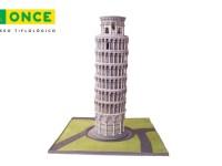 Torre de Pisa 360 en el Museo Tiflologico de la ONCE
