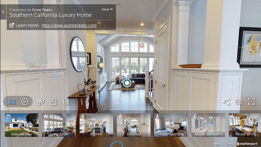 Ejemplos de Espacios 3D Inmobiliaria -Servicio de Visitas Virtuales 3D Inmersivos y Realidad Virtual en Madrid