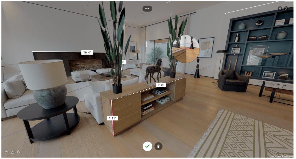 tour virtual 3d madrid matterport medicion comoestaralli