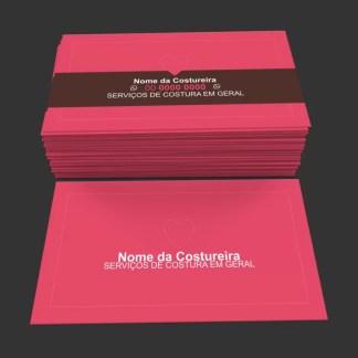 Cartão de Visita Costureira Modelo 02
