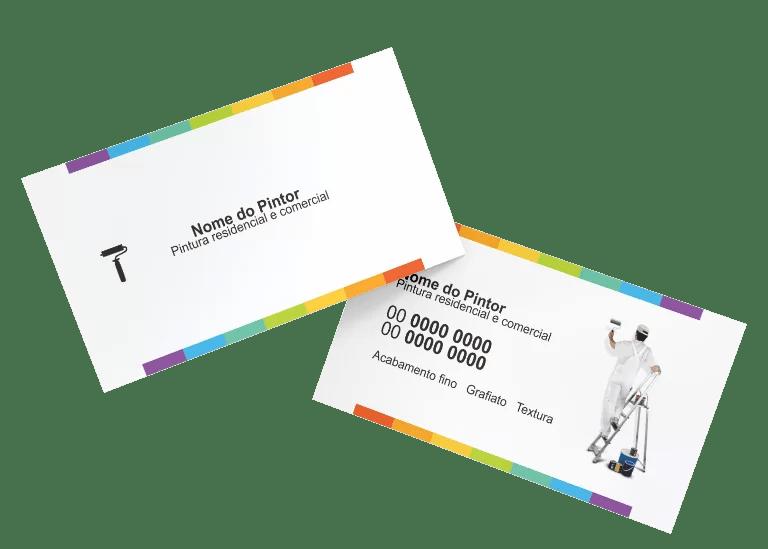 Cartão de Visita Pintor Modelo 02