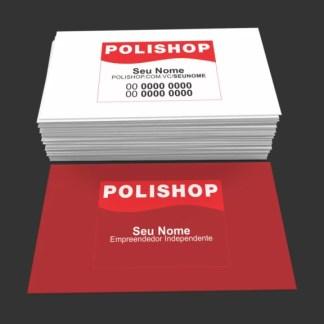 Cartão de Visita Polishop Modelo 01