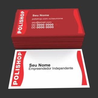 Cartão de Visita Polishop Modelo 02