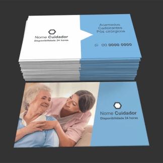 Cartão de Visita Cuidador de Idoso 03
