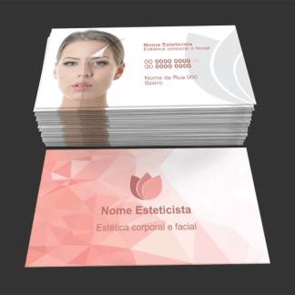 Cartão de visita esteticista 3