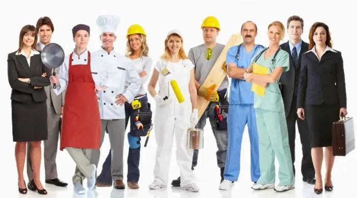 Cada persona cumple un trabajo o funcion dentro de la sociedad