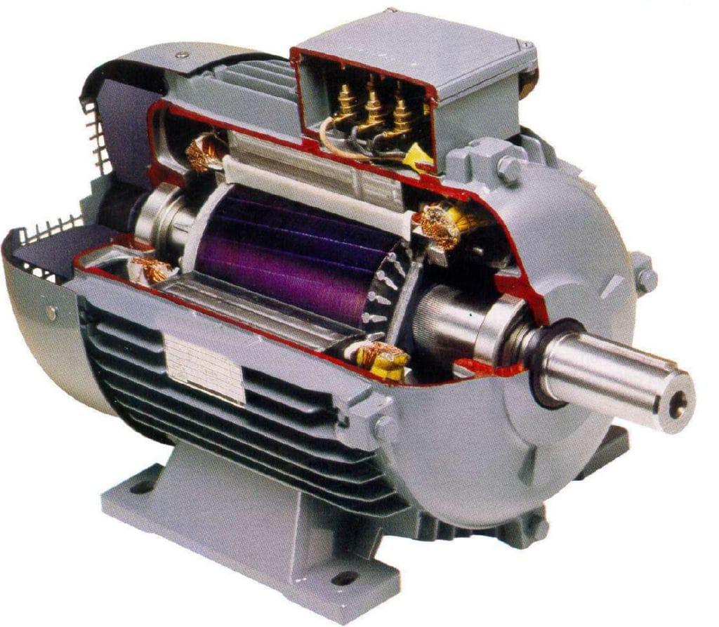 C mo funciona el motor el ctrico - Motor electrico para persianas ...