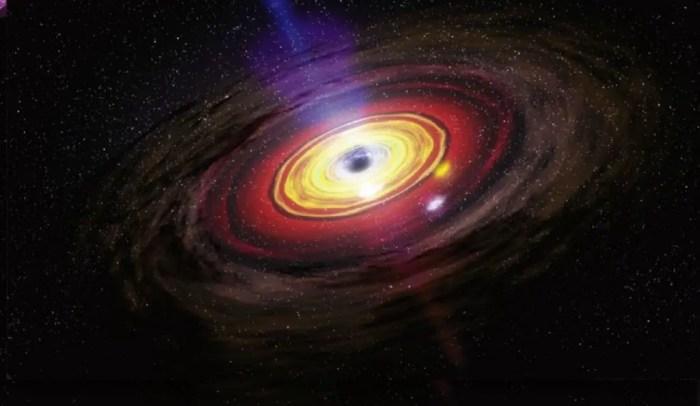 En el centro de la via lactea se encuentra un agujero negro supermasivo