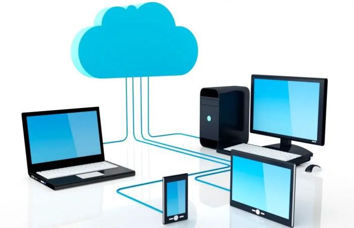 La estructura de la nube esta ideada para guardar todos los datos de las empresas