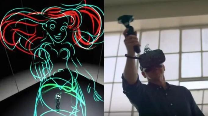 realidad virtual dibujo 3D