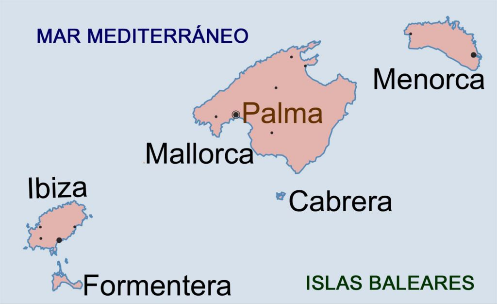 Cu ntas provincias tiene espa a - Islas de baleares ...