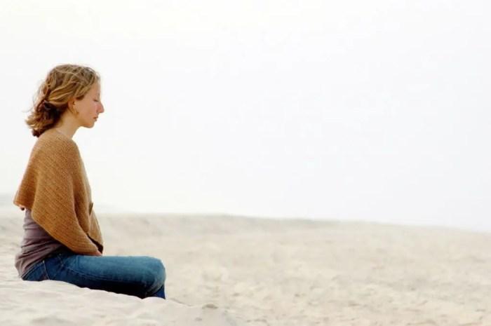 La meditacion tranquila es buena para relajar el cuerpo y la mente