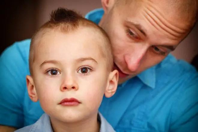 la importancia de un padre en el desarrollo de un niño