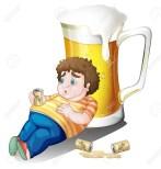 la cerveza aumenta de peso