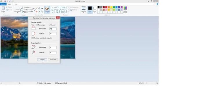 Como reducir tamaño fotos