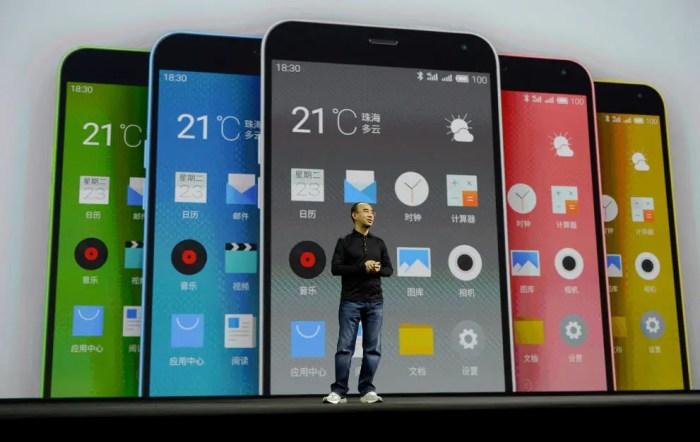 Los teléfonos Meizu han vendido millones, aunque son criticados por imitar el diseño del iPhone de Apple.