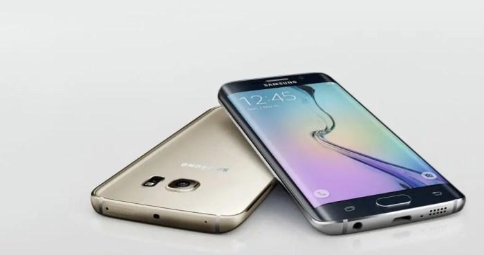 El Galaxy S6 Edge es, junto con el Galaxy S6, el actual buque insignia de Samsung.