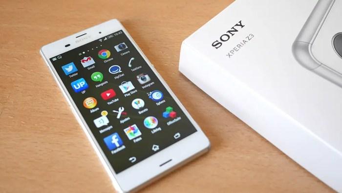 marcas de celulares, Sony