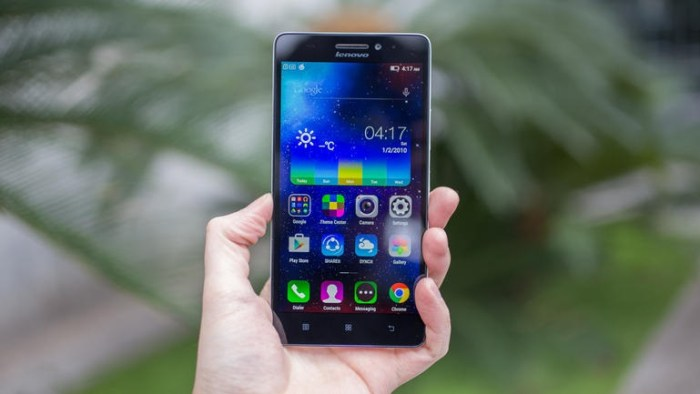 Lenovo es la quinta de las marcas de celulares más importante del mundo.