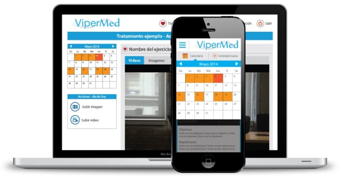 ViperMed creó una app que puede hacer que los médicos interactúen con los pacientes a distancia.