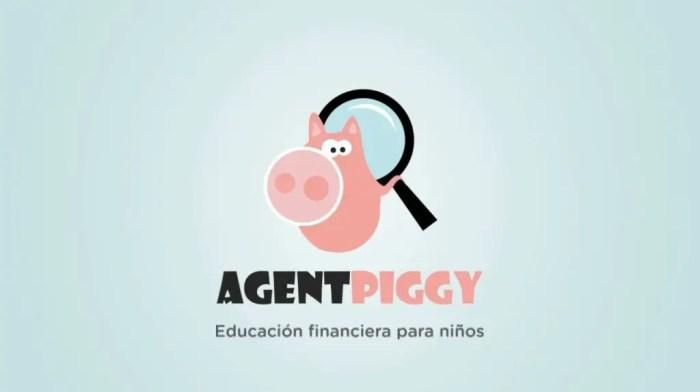 Agent Piggy quiere que los niños aprendan a ahorrar y a ser responsables con su dinero. Imagen: Agent Piggy