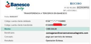 1 Millon 569 Mil Bolívares