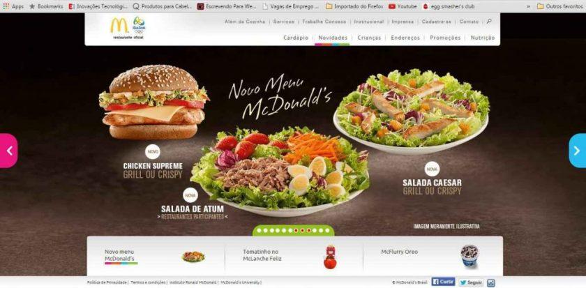Promoção McDonalds