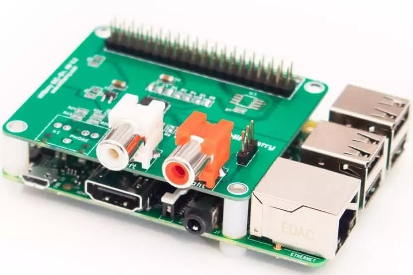 Raspberry Pi con HAT