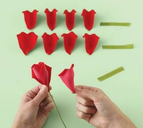 hacer rosas de papel - Como Hacer Rosas De Papel