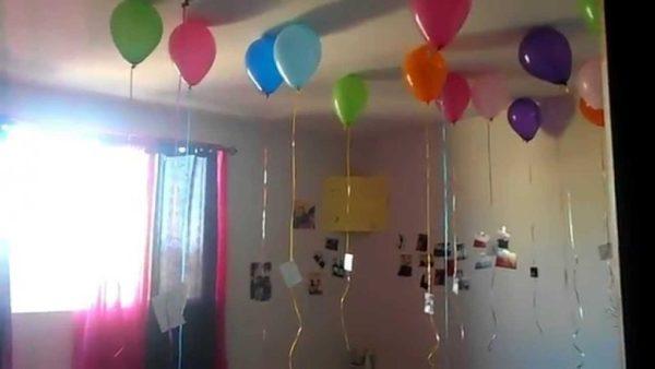 C mo decorar una habitaci n para sorprender por un for Cuartos decorados romanticos con globos