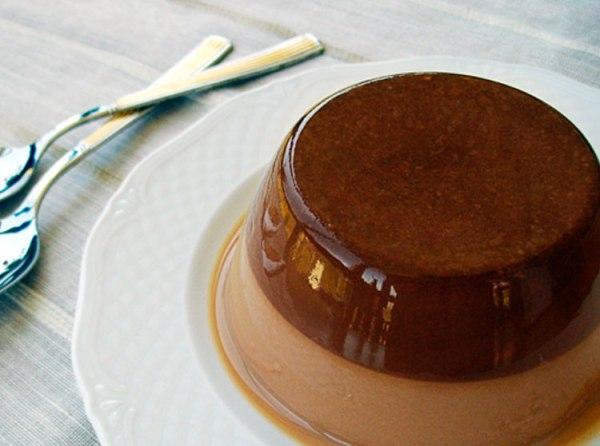 Cómo hacer un flan de chocolate