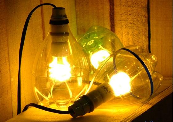 Cómo hacer lámparas caseras