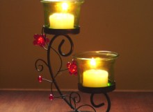 Cómo hacer candelabros decorados