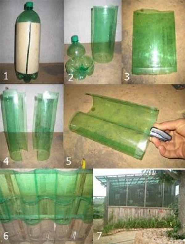 Cómo construir un tejado con botellas plásticas - ¿Cómo lo puedo hacer?