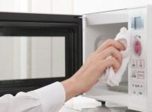 Cómo limpiar el horno microondas 1