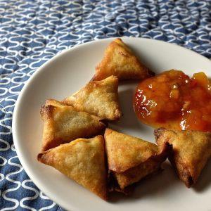 Cómo preparar samosas de pollo 3