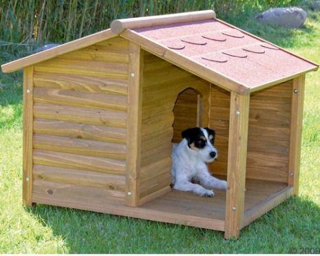 C mo construir una casa para perros c mo lo puedo hacer - Como hacer una casa para perro grande ...