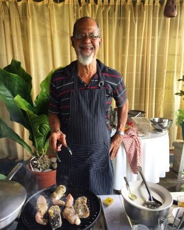 The Blue Crab Restaurant, Scarborough, Tobago