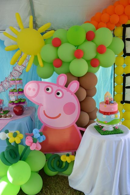 Peppa Pig Party Theme Archives How To Organize