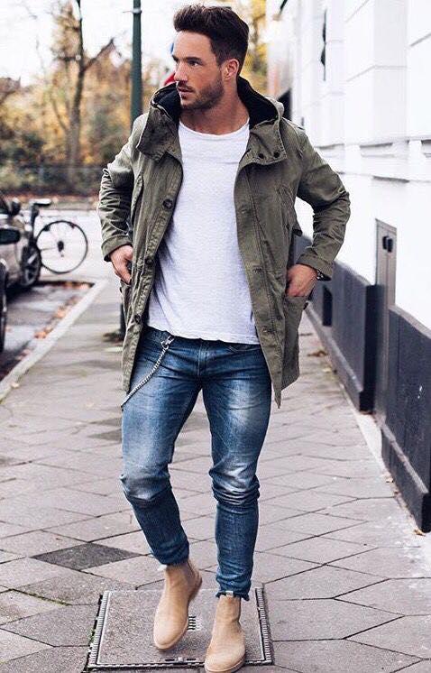 Outfits Para Hombre Con Sacos O Abrigos 11