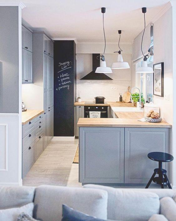 Ideas para los pequenos espacios de cocina for Cocinas para espacios pequenos