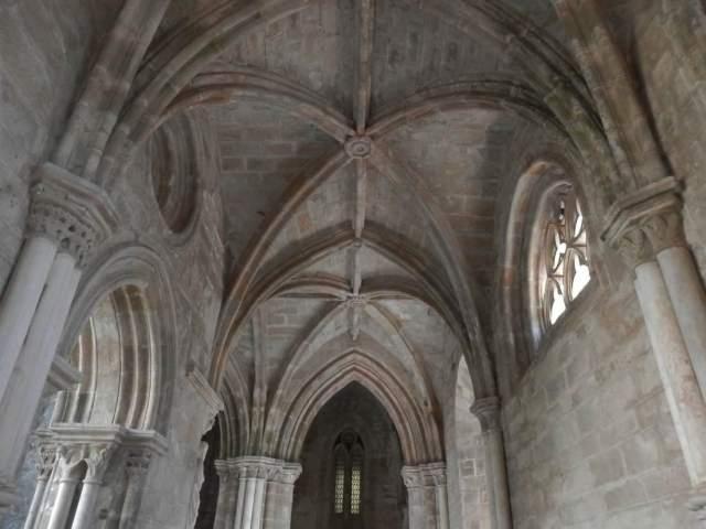 techo interior catedral evora portugal