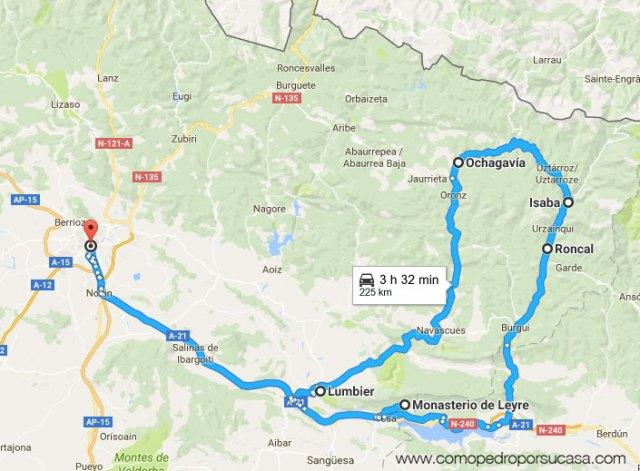 ruta valle roncal valle salazar pamplona