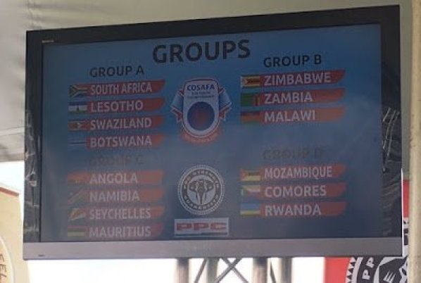 Cosafa, COSAFA U20 2016 : les Comores logés dans le groupe D