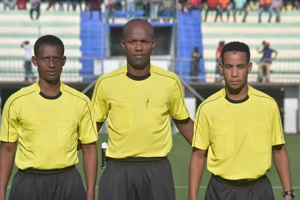Amaldine, CAF CL : Soulaimane Amaldine parmi les officiels de TP Mazembe-ES Sétif