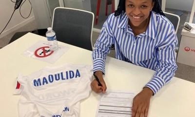 Assimina Maoulida, OL : Assimina Maoulida signe son premier contrat professionnel