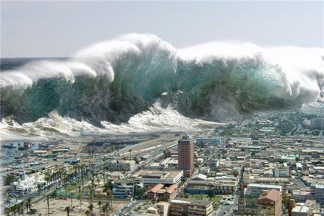 Como se forma un tsunami