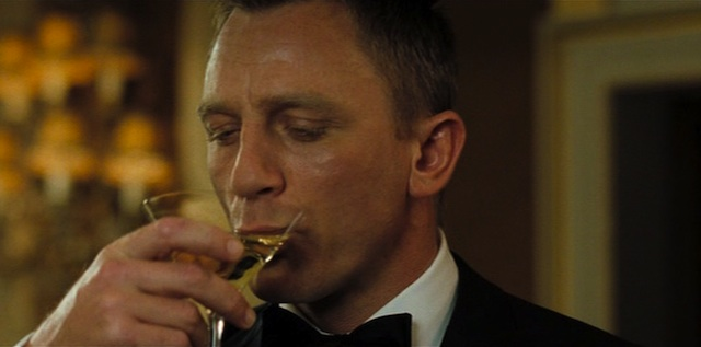 James Bond y el Martini