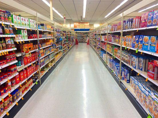 Resultado de imagen de dibujos de estanterías del supermercado